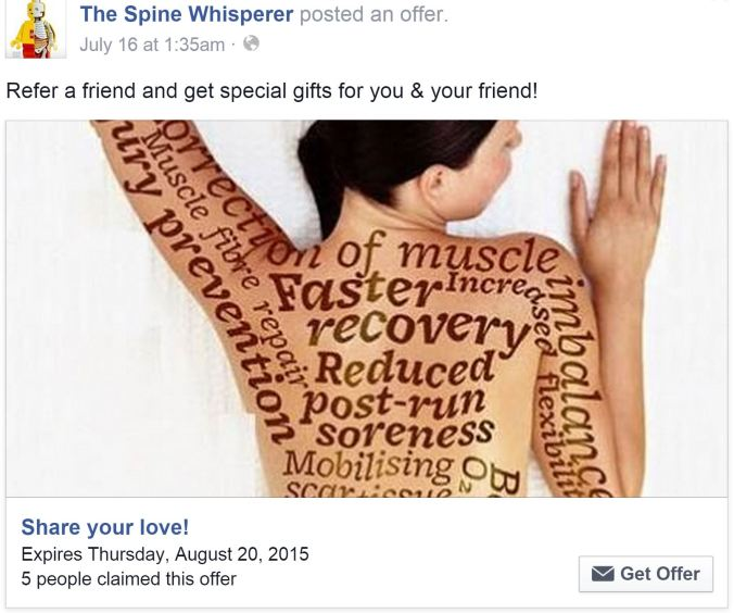 The Spine Whisperer_Share your love promo