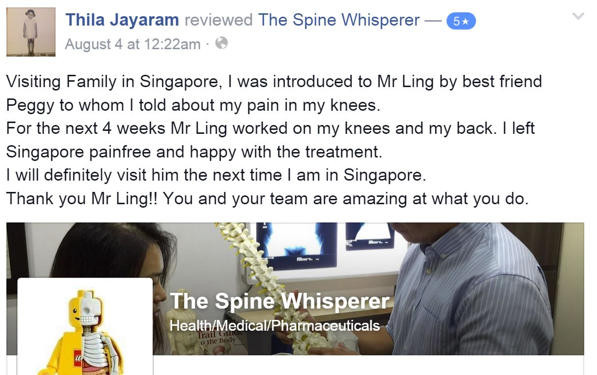 The Spine Whisperer_Thila testimonial